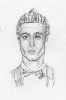 Max Irons by ColouredClouds