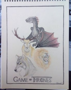 Game of Thrones Poster by MissVengence