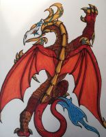 Red Dragon by TheMonkeyLord