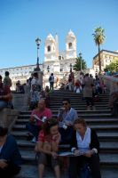 Spanish Steps 7. Rome. Italy by jennystokes