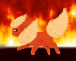 Flareon by Glaceonrocks
