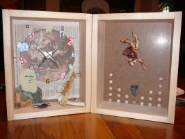 Symbolic Self Portrait Assemblage by tree27