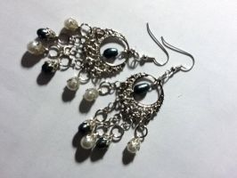 Home Coming Earrings by CrazyPieLover