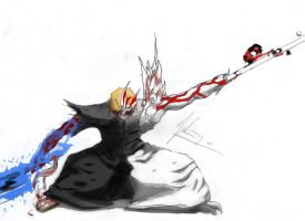 hollow Ichigo by Unpur3