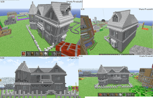 epic house minecraft by bluecarseat