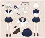 Character Sheet Sample- Sui by toumin