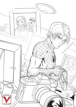 Peter Parker by laurus-the-outsider
