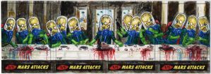 Mars Attacks - The Last Supper by tdastick