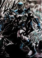 Black Lantern Batman by MPaolillo