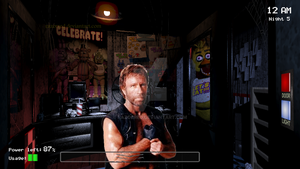 Five Nights At Chuck Norris by RazorRed