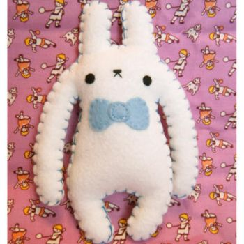 Monster Bun Larry by hellohappycrafts