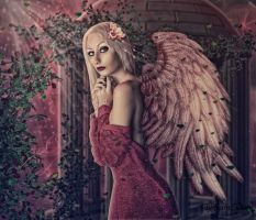 Red angel by tiffanydark