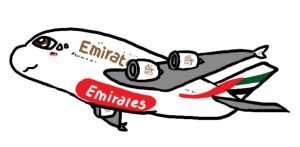Emirates by boeing767-300