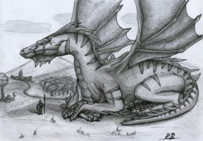 Dragon by bjorgar