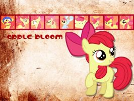 Apple Bloom Wallpaper by phasingirl