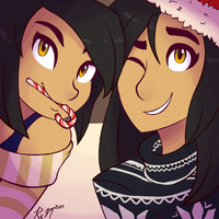 Holiday Selfies by Ric-M