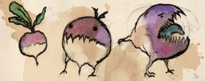The monsterous turnip by EmiliAlys