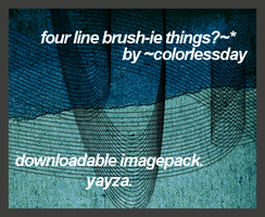 Line Brushes by colorlessday