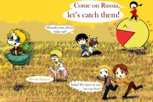run, hetalia, run O: by LunarLandings