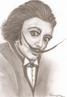 Salvador Dali by Wallper