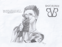 Andy Biersack by XxIrinaxX