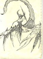 Scorpion Queen by theluckyone7189