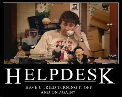 IT Crowd Helpdesk by surlana
