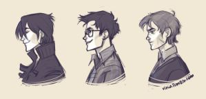 marauders profiles by viria13