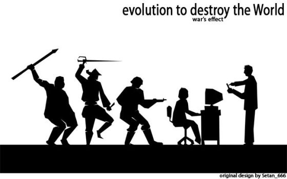 The Evolution of Weapon by setan666
