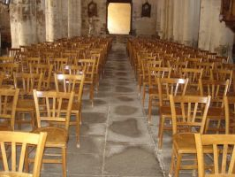stock church chairs by xSunnyCloudx