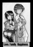 Finished Family Portrait by TaniChan