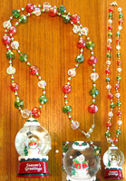 Christmas Necklace by DiscoPotato