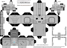 Cubee - Cyberman 'Series 7 Version' by CyberDrone