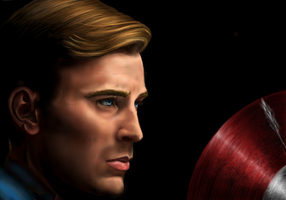 Captain America: The first Avenger by guen20