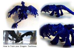 Pipe Cleaner -Toothless by Eclpsedragon