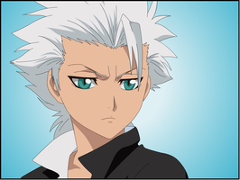 Captain Hitsugaya Toushiro by Darrajunior
