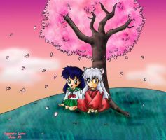 Request - Inuyasha and Kagome by sapphireluna