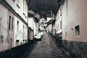 Brasov Alley by Destroth