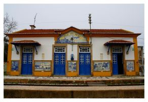 Train Station of Vale do Peso by FilipaGrilo