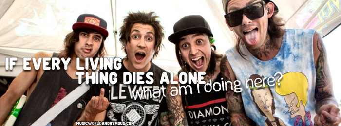 Pierce the Veil Facebook Cover by cutielou