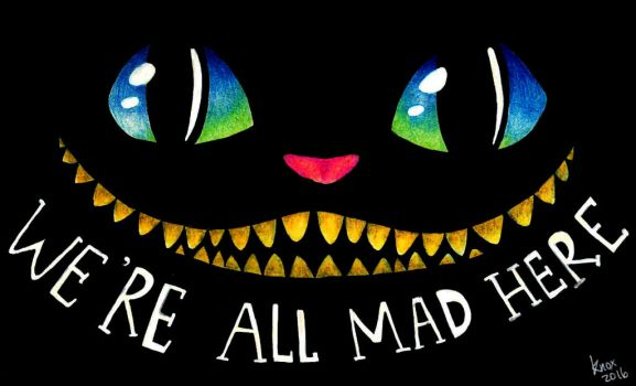 Cheshire Cat (MAD) by foxieknox