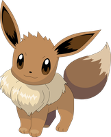 Eevee Illustrator Vector by kallen10