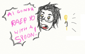 THE SPOON OF DOOM by radioactivejellyjar