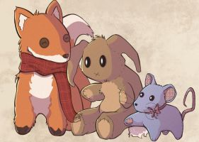 Bunny and Friends by Nollaig
