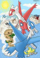Legendary Hoenn by Kaedechtu