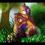 Gift - Apple-Paw-Chan Speedpaint by LadyLirriea
