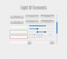 Light UI Kit by xara24