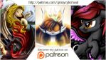 Become my Patron on Patreon by Groxy-Cyber-Soul