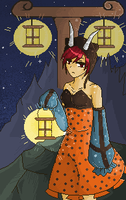 Meiko - Dream Meltic Halloween by xCASTRAx