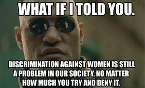 Morpheus on Sexism by Party9999999